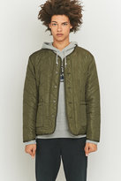 Stussy Quilted Olive Military Jacket