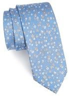 The Tie Bar Men's Freefall Floral Silk Tie