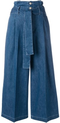 Stella McCartney Maggie denim culottes