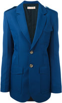 Marni oversized suit jacket - women - Silk/Polyester - 40