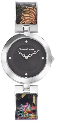 Christian Lacroix Womens Analogue Quartz Watch with Stainless Steel Strap CLWE29
