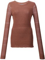 Maiyet mixed knit sweater