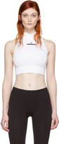 adidas by Stella McCartney White Climalite Crop Top