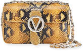 Mario Valentino Valentino By Poisson Python-Print Leather Shoulder Bag