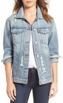 Rails Women's 'Knox' Distressed Denim Jacket