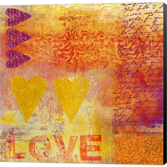 S.t.a.m.p.s. Love by Andrea Haase Canvas Art