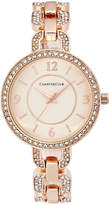 Charter Club Women's Pavé Rose Gold-Tone Bracelet Watch 33mm, Only at Macy's