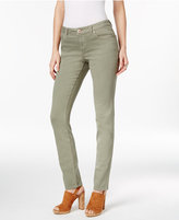 INC International Concepts Curvy Colored Wash Skinny Jeans, Only at Macy's