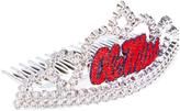 Ole Miss Rebels Plastic Tiara Comb - Girls