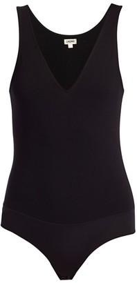 L'Agence Winnie Deep-V Bodysuit