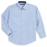 Michael Kors Boy's Check Dress Shirt