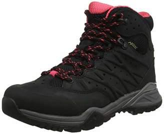 The North Face Women's W Hedgehog Hike II Mid Gtx High Rise Boots, Black (Tnf Black/Atomic Pink 5vf), (36.5 EU)