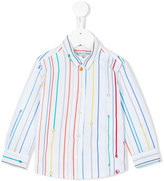 Paul Smith rainbow stripe shirt - kids - Cotton - 24 mth