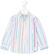 Paul Smith rainbow stripe shirt