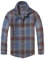 Tommy Hilfiger Th Kids Heavy Twill Check Shirt