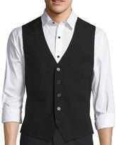 Asstd National Brand WD.NY BLACK Basic Solid Black Vest