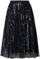Rumour London Fairy Midi Sequined Skirt In Black