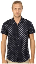 Scotch & Soda All Over Printed Short Sleeve Shirt in Hawaii Styling
