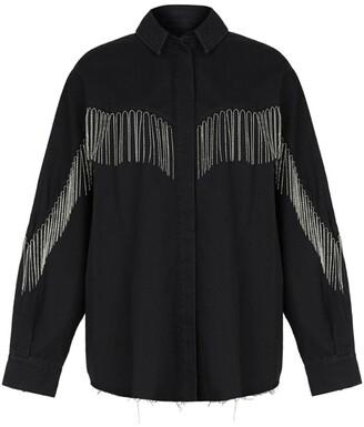 AllSaints Denim Sandra Jaine Shirt