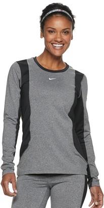 Nike Women's Dri-FIT Long-Sleeve Training Top
