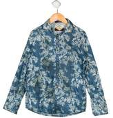 Scotch Shrunk Boys' Printed Button-Up Shirt w/ Tags