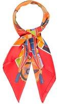 Hermes L'Art Indien Des Plaines Silk Scarf