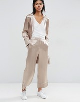 Asos Wide Leg Pant with Piping Detail