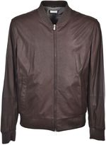 Brunello Cucinelli Leather Bomber