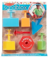 Melissa & Doug Sandblox Sand Shape-and-Mold Tool Set