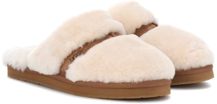 d21f1cff1cf Dalla shearling slippers