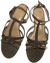 Bally Beige Water snake Sandals