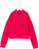 Juicy Couture velvet effect jacket