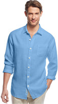 Tommy Bahama Men's Sea Glass Breezer Linen Shirt