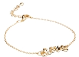 Asos Love Bracelet - Gold