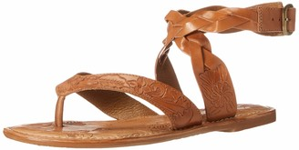 Very Volatile Women's Palm Embossed Thong Sandal