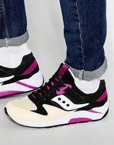 Saucony Grid 9000 Trainers In Black S70077-43