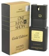 Jacques Bogart One Man Show Gold by Men's Eau De Toilette Spray - 100% Authentic by