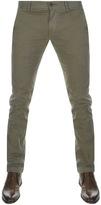 BOSS ORANGE Schino 1 Slim Fit Trousers Green