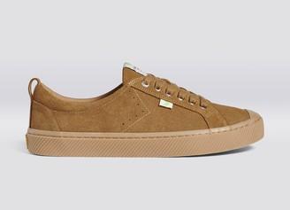 Cariuma OCA Low All Camel Suede Sneaker Men