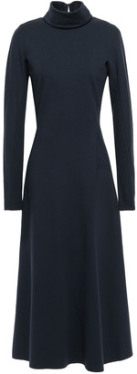 Victoria Beckham Cutout Stretch-jersey Turtleneck Midi Dress