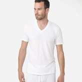 James Perse Lounge Short Sleeve V-Neck