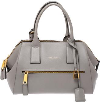 Marc Jacobs Grey Leather Medium Incognito II Satchel