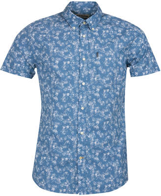 Barbour Men Printed Chambray Shirt