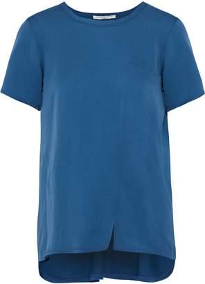 Halston Silk-blend Jersey T-shirt
