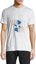 Bikkembergs Men's Cotton Graphic Crewneck T-Shirt