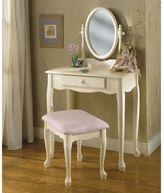 Powell Vanity & Bench Set