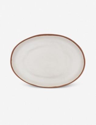 Lulu & Georgia Tara Oval Platter, Terracotta