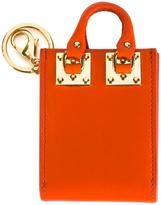 Sophie Hulme Albion keyring - women - Calf Leather/Leather/metal - One Size