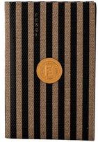 Fendi Miniature Striped Address Book
