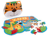 Stephen Joseph 48-Piece Zoo Floor Puzzle